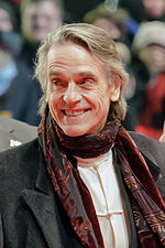 Photo of Jeremy Irons at the Berlin International Film Festival