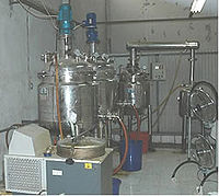 Reactors used in synthesis