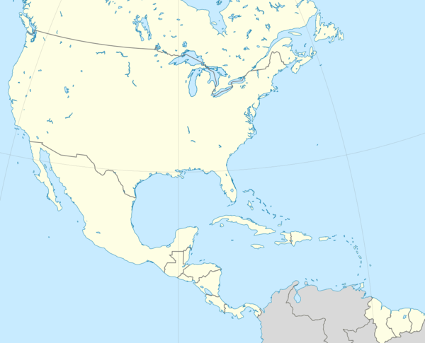 2014–15 CONCACAF Champions League is located in CONCACAF