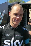 A photograph of Chris Froome.
