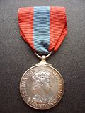 Obverse of the Imperial Service Medal