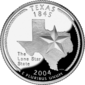 Texas quarter dollar coin