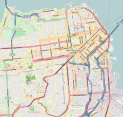 Location within San Francisco