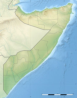 Merca is located in Somalia