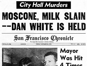 Cover of San Francisco Chronicle November 28 1978.jpg