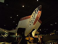 Normal configuration of SpaceShipOne replica