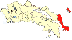 Location of Karystia Province
