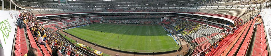 Panorama Estadio Azteca football game Club America.jpg