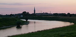 Meuse river near Maaseik