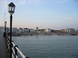 View of the Seafront from Worthing Pier