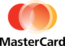 MasterCard logo used since 16 December 2006. It is not used on the cards themselves.