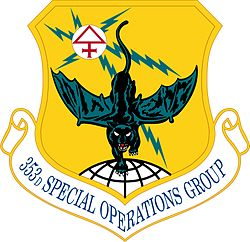 353d Special Operations Group Emblem