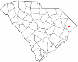 Location of Conway inSouth Carolina