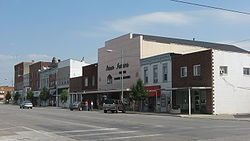 Buildings in downtown Wauseon