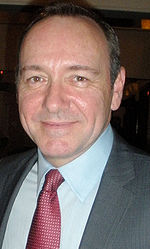 Photo of Kevin Spacey at the Eugene O'Neill Theater Benefit for a Monte Cristo Award 2009.